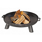 Orlando Steel Fire Pit and Brazier with 70cm Fire Bowl