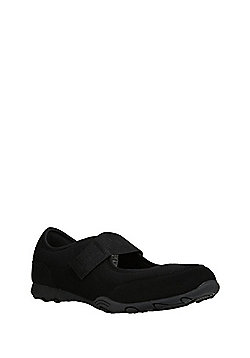 F&F Active Mary Jane Strap Trainers - Black