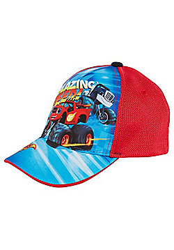 Nickelodeon Blaze and the Monster Machines Cap - Blue & Red