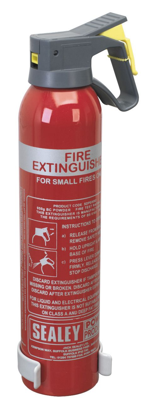 Sealey SDPE009D - 0.95kg Dry Powder Fire Extinguisher - Disposable