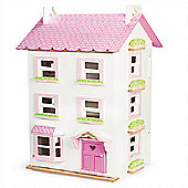 Le Toy Van Traditional Wooden Dolls House - Victoria Place