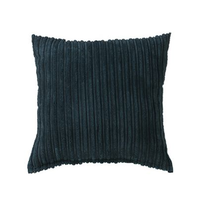 Black Jumbo Cord Cushion 18
