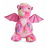Aurora Candies Dragon Dazzler 17cm Pink Plush Soft Toy