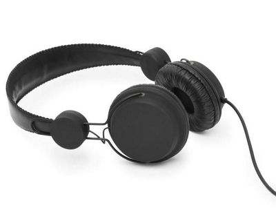 Coloud Colors Headphones with Microphone & Remote Black