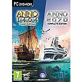 Anno Double Pack (1404 Gold Edition/2070) /pc - PC