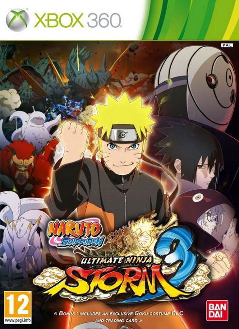 Naruto Shippuden: Ultimate Ninja Storm 3 (Xbox 360)