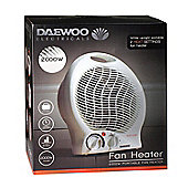 Daewoo 2000W Portable Upright Fan Heater