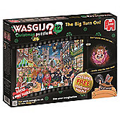 Wasgij Christmas 12 - The Big Turn On - 1000pc Puzzle
