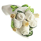 Traditional Baby White Clothes Bouquet