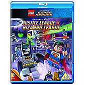 Lego - Justice League Vs Bizarro League WITH MINIFIG BLU-RAY
