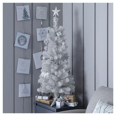 Buy 3ft White Pre Lit Christmas Tree (20 white LEDs) from ...