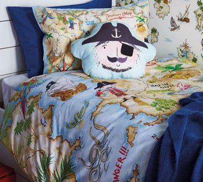 Pirates Ahoy Single Bedding