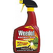 Weedol Rootkill Plus - 1L Spray Gun - Kills Roots And Weeds