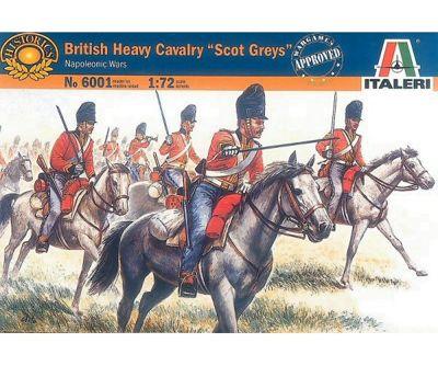 British Heavy Cavalry 'Scot Greys' Napoleonic Wars - 1:72 Scale - 6001 - Italeri