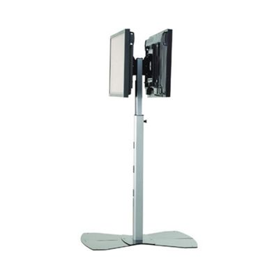 Chief Dual Flat Panel TV Stand - Silver