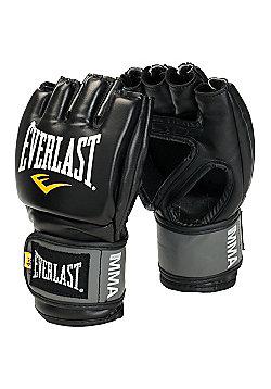 Everlast MMA Pro Style Grappling Gloves - Black