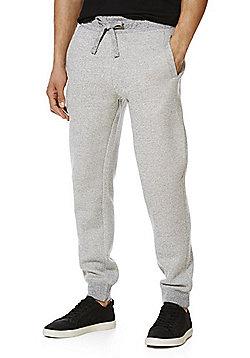 F&F Textured Marl Joggers - Grey