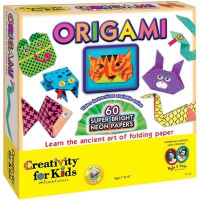 Creativity For Kids Neon Origami Kit
