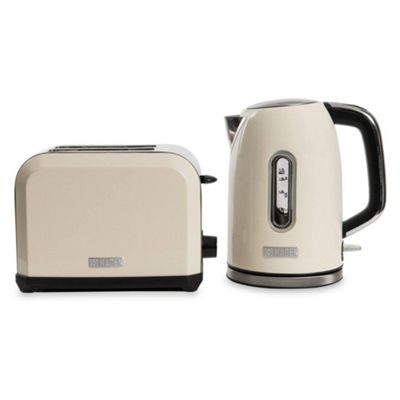 Haden 190055 Chiswick Kettle & Toaster Set in Cream