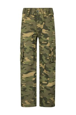Mountain Warehouse Camo Cargo Kids Trouser