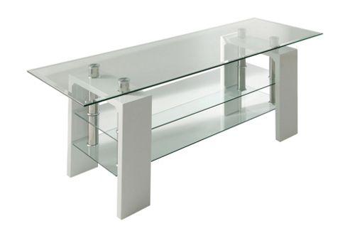 Wilkinson Furniture Calico TV Stand - White