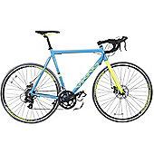 Viking Scirocco 300 Blue Alloy Frame 700c STI Disc Brakes Road Bike