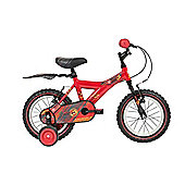 "Raleigh Atom Kids Bike 14"" Wheel w/Stabilisers Yellow"