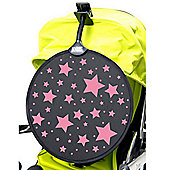 My Buggy Buddy Buggy Cosatto Sunshade - Pink Stars