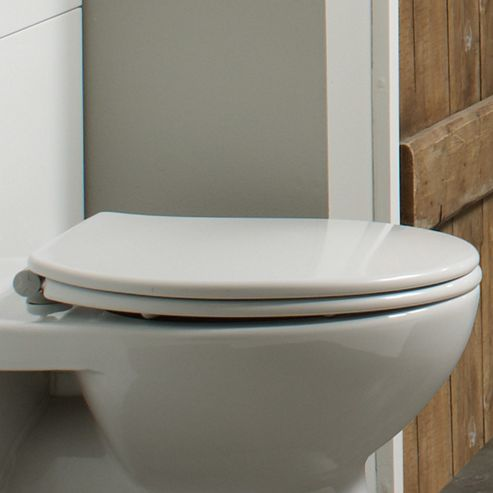 Tavistock Alpine Soft Close Toilet Seat in White