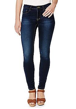 Only Indigo Wash High-Performance Stretch Skinny Jeans - Indigo wash