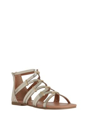 F&F Gladiator Sandals Gold Adult 2