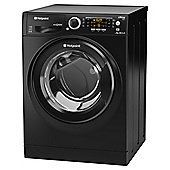 Hotpoint Ultima S-Line Washing Machine, RPD10457 JKK UK, 10KG load, with 1400 rpm - Black