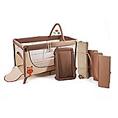 KinderKraft Joy Plus Folding Travel Cot (Beige)