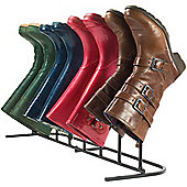 Andrew James Shoe Boot Rack - 4 Pair Storage