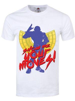 Show Me Your Moves White Men's T-shirt