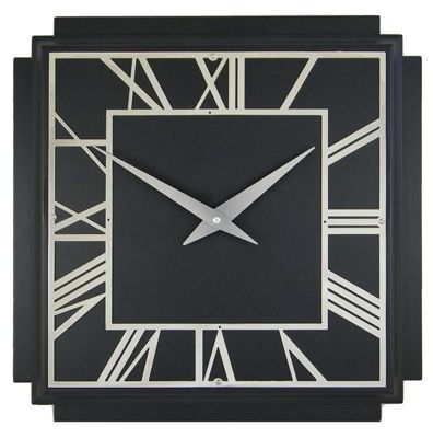 Nice Roger Lascelles Clocks 1930u0027s Art Deco Wall Clock In Black
