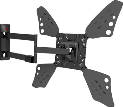 Barkan 3400L Full Motion Curved / Flat TV Wall Mount for 32