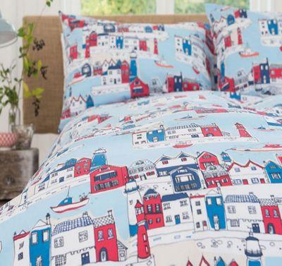 Harbour Super King Size Bedding - 100% Cotton