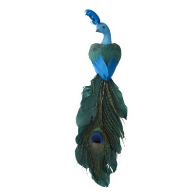 Clip On Peacock Decoration