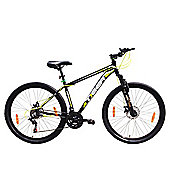 Tiger ACE 27.5 Front Suspension Mountain Bike Black Green
