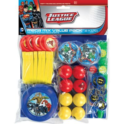 Justice League Favour Pack