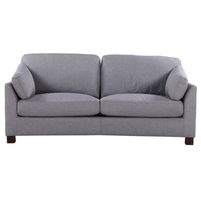 Sofa Collection Hartford Textured Fabric 3 Seat Sofa - Cappuccino