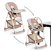 Hauck Sit'n Relax 2 in 1 High Chair and Bouncer - Giraffe