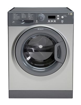 Hotpoint Extra WMXTF 842G UK.R, 8kg, 1400rpm Washing Machine - Graphite