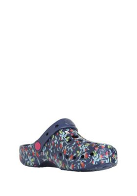 F&F Floral Clogs Navy Adult 3