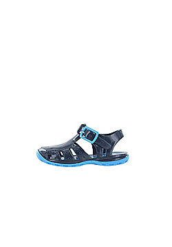 Boys Thomas The Tank Engine Blue Jelly Sandals Beach Shoes UK Sizes 3 to 9 - Blue