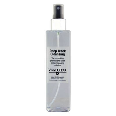 Vinyl Record LP Cleaning Anti-static Solution - 250ml Spray Bottle