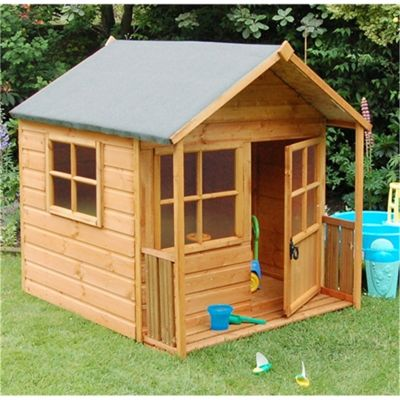 5 x 5 Deluxe Playaway Playhouse (1.60m x 1.56m) (5ft x 5ft)