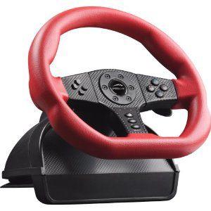 SPEEDLINK Carbon GT Racing Wheel PC & PS3, Red/Black SL-6694-RD