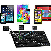 Navitech Black Wireless Bluetooth Multi OS Keyboard Compatible With Apple ipad 9.7 Inch & iPad Pro 9.7 Inch